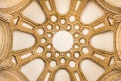 Kopuła sufit pałac sztuki piękna, San Fransisco Zdjęcie Stock