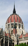 Kopuła Węgierski parlament w Budapest, Węgry Fotografia Stock