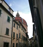 Kopuła w Pistoia Tuscany Włochy obrazy royalty free