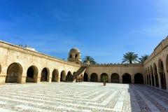 Kopuła Wielki Meczetowy Sousse, Tunezja obraz royalty free