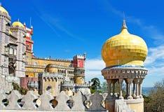 kopuły balkonowy kolor żółty Zdjęcie Royalty Free
