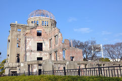 kopuły domu genbaku Hiroshima zdjęcia stock
