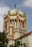 Kopuły i wierza Pamiątkowa Prezbiteriańska katedra Obrazy Stock