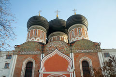 Kopuły intercesi katedra, Izmaylovo nieruchomość, Moskwa, Russi Fotografia Royalty Free
