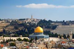 kopuły Jerusalem skała Fotografia Stock