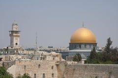 kopuły Jerusalem skała obrazy royalty free