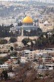 kopuły Jerusalem skała Zdjęcie Royalty Free