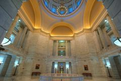 kopuły kapitałowy wnętrze Fotografia Royalty Free