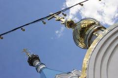 Kopuły kościół Fotografia Royalty Free