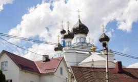 Kopuły kościół Zdjęcie Royalty Free