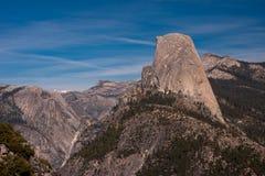 kopuły połówka np Yosemite Obraz Stock