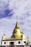 Kopuły przy świątynią od Bangkok tajlandzkiego Obraz Stock