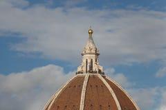 Kopuły ` s czerep Florencja katedra tuscany Włochy Zdjęcia Royalty Free