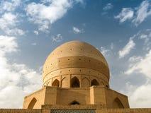 Kopuła Agha Bozorg Madrasa i meczet, Kashan Iran Zdjęcia Stock