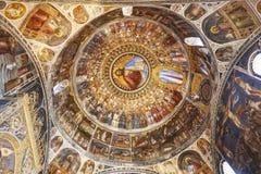 Kopuła baptistery w Padua Zdjęcia Royalty Free