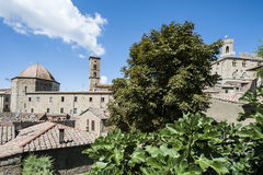 Kopuła katedra Volterra Zdjęcia Stock