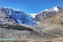 Kopuła lodowiec w Jaspisowym parku narodowym, Kanada Fotografia Royalty Free