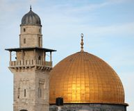 kopuła minaret Zdjęcia Royalty Free