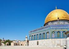 Kopuła Rockowy meczet w Jerozolima obrazy royalty free