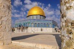 Kopu?a ska?a w sercu Jerozolima, Izrael fotografia stock