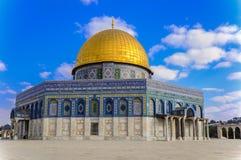 Kopu?a ska?a w sercu Jerozolima, Izrael fotografia royalty free