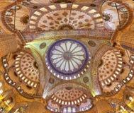 Kopuła Sultanahmet meczet Obraz Royalty Free