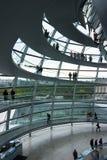 kopuły niemiec reichstag Fotografia Royalty Free
