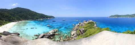 Kor 8 similan island - view point Royalty Free Stock Photo