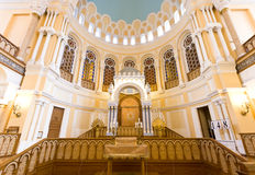 Kor- synagoga Arkivbild