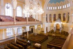 Kor- synagoga Arkivfoton