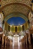Kor- synagoga för Moskva, in - mellan bönerna var tom Royaltyfria Bilder