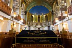 Kor- synagoga för Moskva Stället av bönläsning Royaltyfria Foton