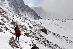 Kora around Kailash, Tibet Royalty Free Stock Photography