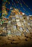 Kora La Pass och dess glaciär av Tibet Royaltyfri Bild