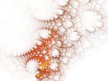 Koraal op Wit royalty-vrije illustratie