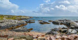 Koraalstrand dichtbij Carraroe, Provincie Galway, Ierland royalty-vrije stock afbeeldingen