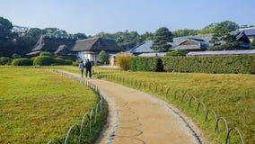 Koraku-en garden in Okayama Stock Photography