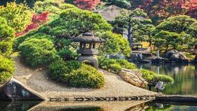Koraku-en garden in Okayama Royalty Free Stock Photos