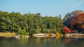 Koraku-en garden in Okayama Stock Photos