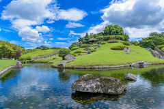 Korakuen, Japanese garden in Japan Stock Photos
