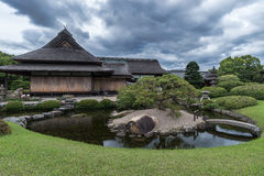 Korakuen, Japanese garden in Japan Royalty Free Stock Photography