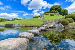 Korakuen, Japanse tuin in Japan Royalty-vrije Stock Afbeeldingen
