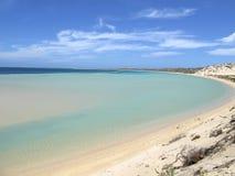 Koral zatoka, zachodnia australia Zdjęcia Stock