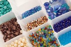 koralików biżuterii robienie Zdjęcie Royalty Free