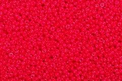 koralików czerwieni ziarno Zdjęcie Royalty Free