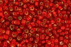 koralików czerwieni ziarno Obrazy Royalty Free