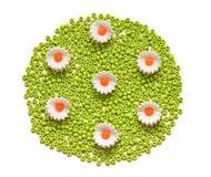 koralików kwiaty Zdjęcia Stock