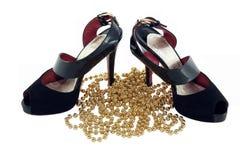 koralików pary buty Obraz Royalty Free
