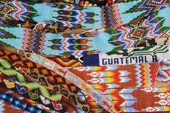 koralików wzory w Gwatemala Fotografia Royalty Free