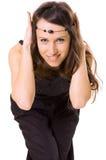 koralik dziewczyny uśmiechnięta Zdjęcie Royalty Free